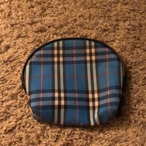 SMALL REAL BLUE BURBERRY BAG